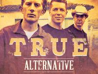 True Alternative Flyer and CD Template