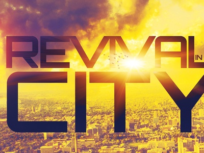 Revival In The City Church Flyer Template by Mark Taylor - Dribbble