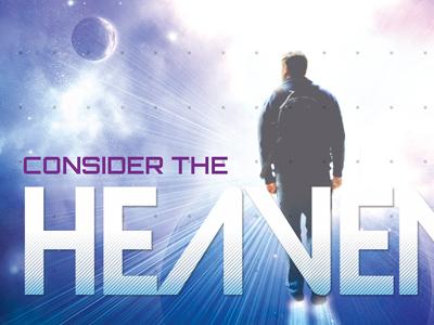 Consider the Heavens Church Flyer Template