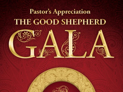 Pastors Appreciation Gala Church Flyer Ticket Template Resurrection Sunday Anniversary Ball