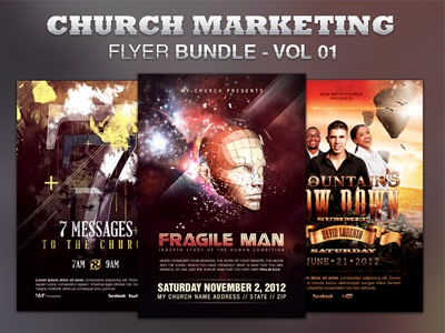 Church Marketing Flyer Bundle Vol 001 church marketing gospel concert flyer album release alternative bundle cd cover christian movie posters church concert church flyers concert promotion concerts conference discount bundle evangelism flyer bundle gospel concert flyer template graphic design templates hand out marketing loswl music ministry music promotion musical flyers poster bundle promotional flyer recording studio promotion street promotion typography flyers