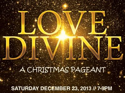 Love Divine Flyer Bulletin CD Template