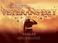 Veterans Day Invite Mailer Template