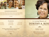 In Loving Memory Funeral Program Template 005