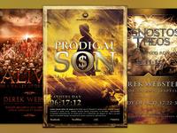 The Church Marketing Flyer Bundle Vol 023