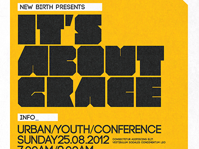 It's About Grace Church Flyer and CD Template album best flyer design bright cd insert cd jewel insert template cd template church church design flyers church template colorful concert creative designs design flyers flyer artwork flyer design flyer designs flyer psd flyer template flyer templates free gift grace inspiks loswl psd flyer sermon typographic flyer urban youth conference church marketing