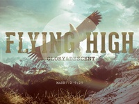 Flying High Church Flyer Template