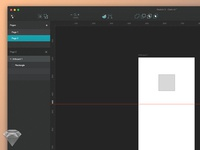 Sketch 3 Dark UI