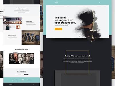 Metod - template web modern layout main clean template theme design ui