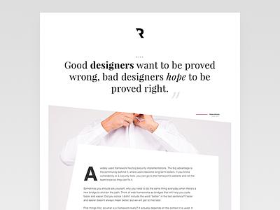 Creating the design of my future blog design ux ui template blog
