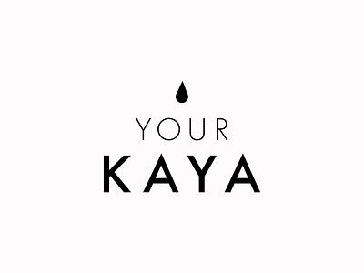 Your Kaya Moodboard icon typography vector logo rebranding ui ux health branding design