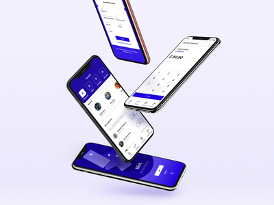 FinTech app mockups fintech app ui finance app bank app finance fintech