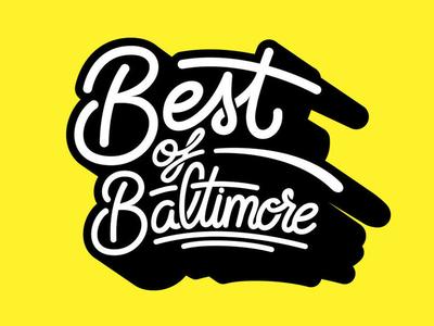 Cover Design: Best Of Baltimore