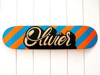 Olivier Handpainted Skateboard