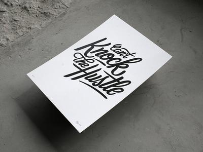 Bijdevleet X Nieuwehoogte Poster Series brush lettering calligraphy typography collaboration poster handlettering letterpress