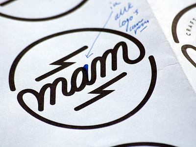 MAD ABOUT MALT Logo design customlettering madaboutmalt craftbeer script handlettering logodesign