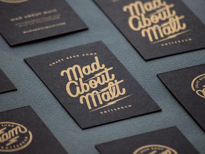 MAD ABOUT MALT Stationery stationery customlettering madaboutmalt craftbeer script handlettering logodesign