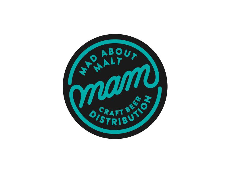 Mam craftbeer distribution logo 2