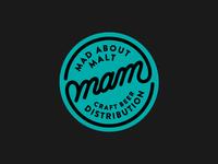 MAM Craftbeer Distribution Logo design