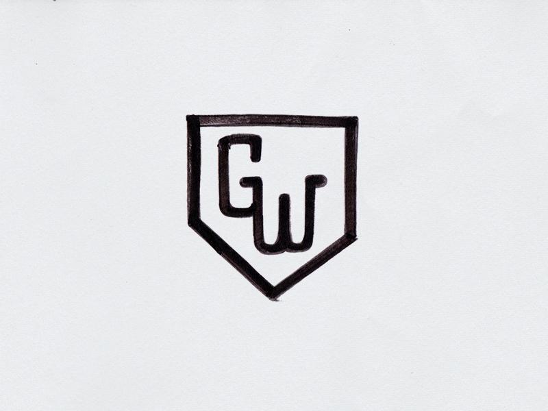 Gloveworks monogram sketch