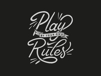Nike | Play By Your Own Rules Tee