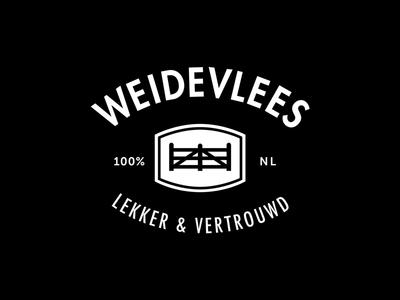 Weidevlees logodesign