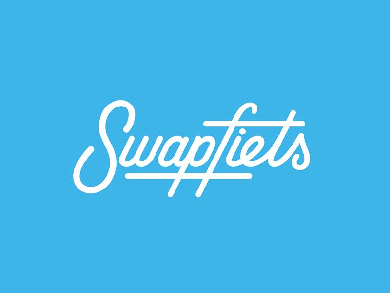 Swapfiets Logo Design handlettering design logo swapfiets
