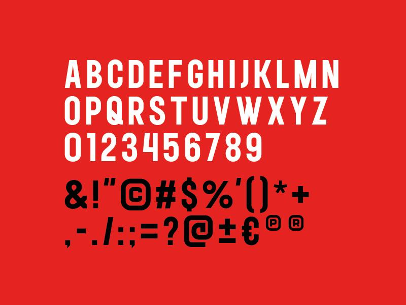 Banlieue typeface2