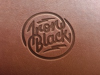 Iron Black logo design