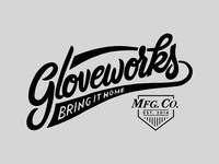 Gloveworks Logo design