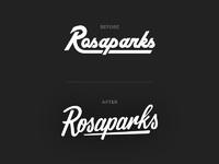 Rosaparks logo restyling