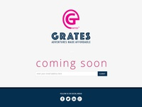 Grates Coming Soon Landing Page