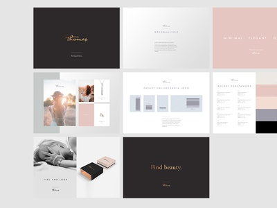 Thomas Brand Guidelines poland jewelry thomas guide style identity logo guidelines book brand
