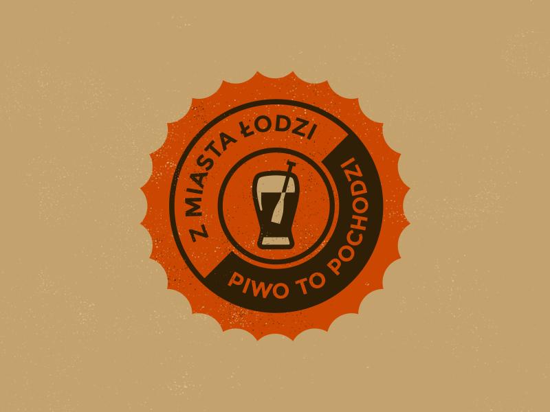 Dribbble z miasta lodzi piwo to pochodzi
