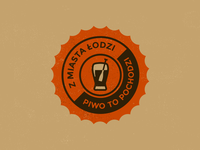 Z miasta Łodzi piwo to pochodzi