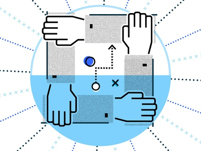 App Dev White Paper Revive Distinguish brand vector illustration halftone appdevelopment white paper strategy partnership