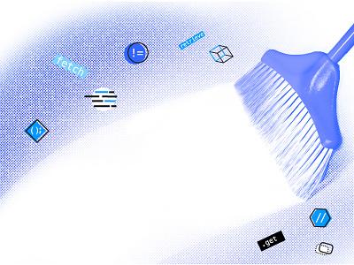 Clean Code mobile app development illustration design code c developement