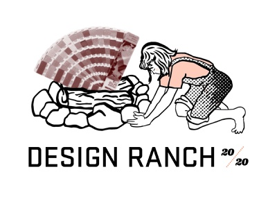 Design Ranch 2020 Identity branding identity design ranch 2020 digital illustration halftone