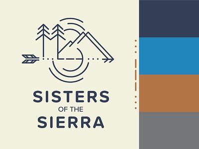 Sisters of the Sierra Logo logo brand