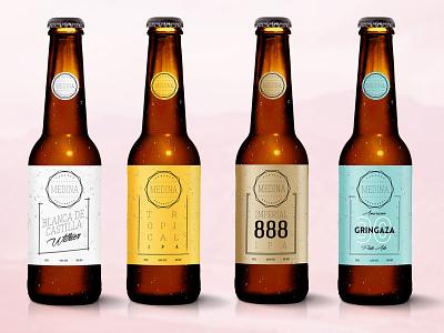 Label Beer Design label design beer craft beer clean logo laber design branding concept beer label