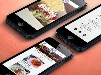 Responsive Website ui ux safari ios restaurant responsive responsive website website mexico