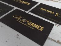 Belle & James Foil Cards