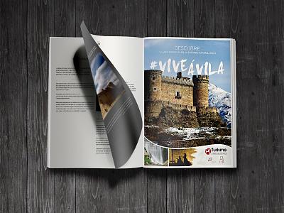Ávila, Spain Advertising spain editorial advertising magazine graphic design