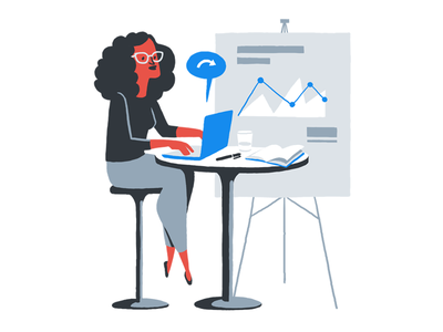 Rundl - Business Meeting business minimal colours brand illustrations