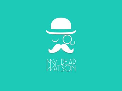 Logo 'My Dear Watson' agency