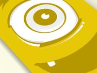 Eye surprise