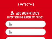 Panic app friends