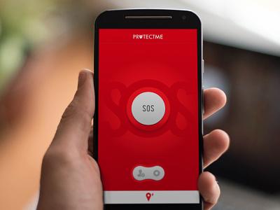 WIP Panic App app panic sos mobile help red button protect save life