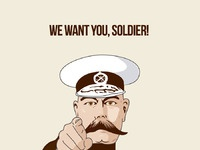We want you poster