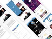 App concept for the Actu Ciné website